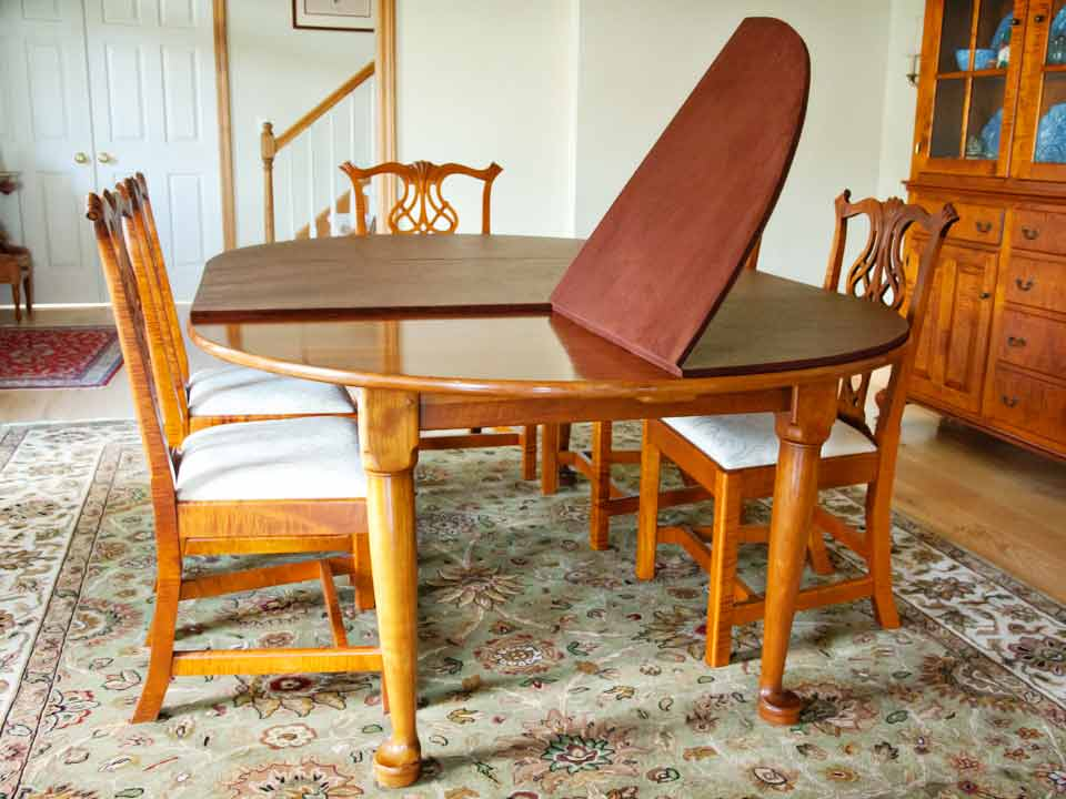 dining table pads - Custom Dining Room Table Pads