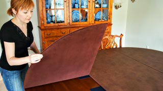 Pioneer Table Pad Company Custom Made Table Protector Pads - Table top extenders