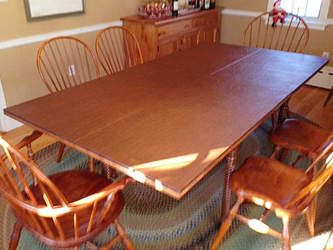 Rectangular table pad photo