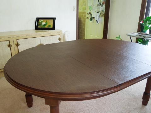 Dining room table pad photo