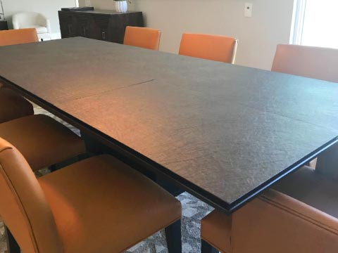 Walnut dining room table pad