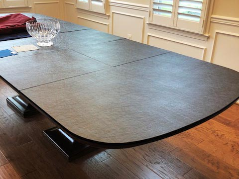Dining room table protector pad