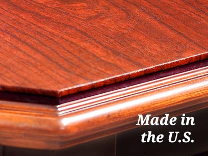 Superieur Slideshow: 1/2 Inch Thick Custom Table Protector Pads Made In The U.S.