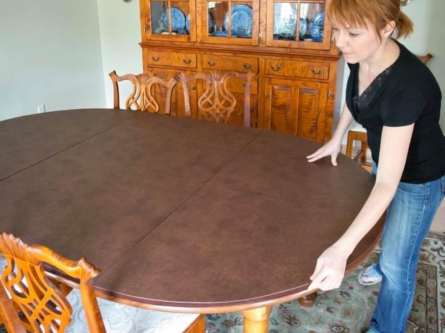 Slideshow: Installation Of Fabric Snug Locks For A Table Pad